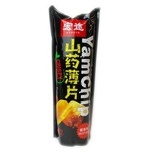 HT Crispy Yam Chip-Sacue Flavor (90g) 宏途山药薄片