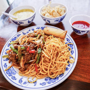 Mongolian Beef Lunch Special