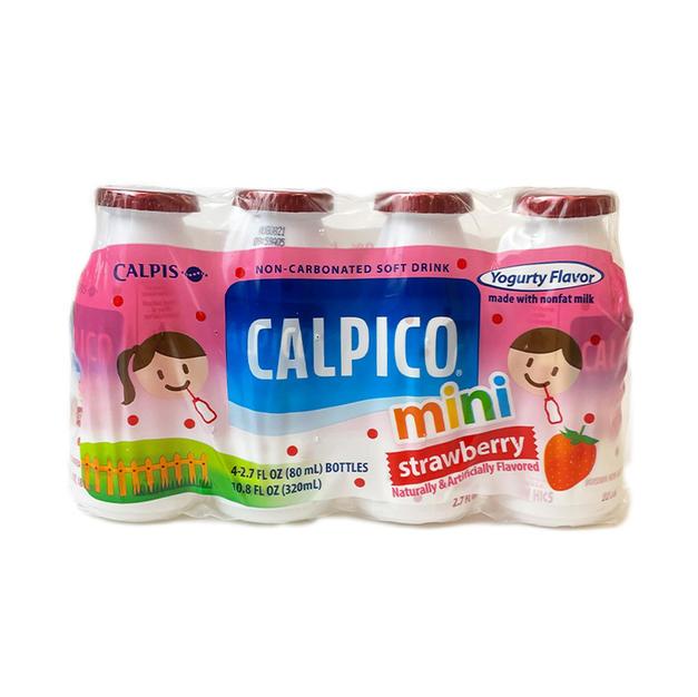 Calpico Mini Strawberry (80ml X4) Calpic