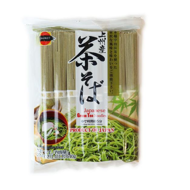 J-Basket Green Tea Noodle (640g) J-Basket