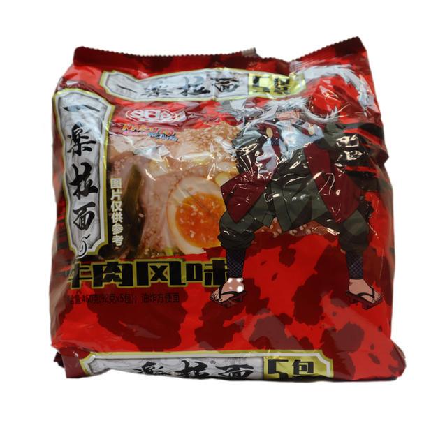 Ichiraku Ramen-Beef Flavor 5PK (460g) 一乐