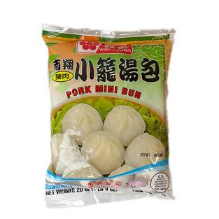 Wei Chuan Pork Mini Bun(20 oz) 味全南翔小笼汤包.