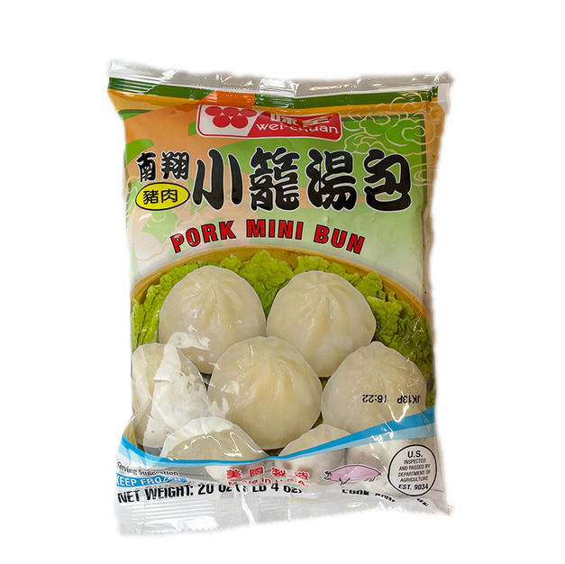 Wei Chuan Pork Mini Bun(20 oz) 味全南翔小笼汤包.