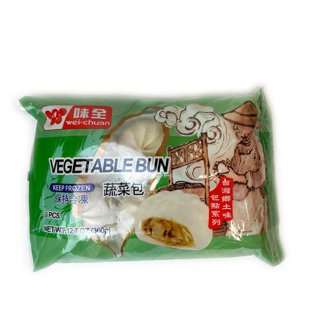 Wei Chuan Vegetable Bun (360g) 味全蔬菜包
