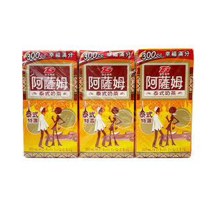 ASSAM Thai Milk Tea (300ml X 6) 阿萨姆泰式奶茶X