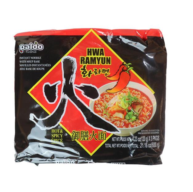 Paldo Hwa Ramyun Hot _ Spicy Epice 5PK (