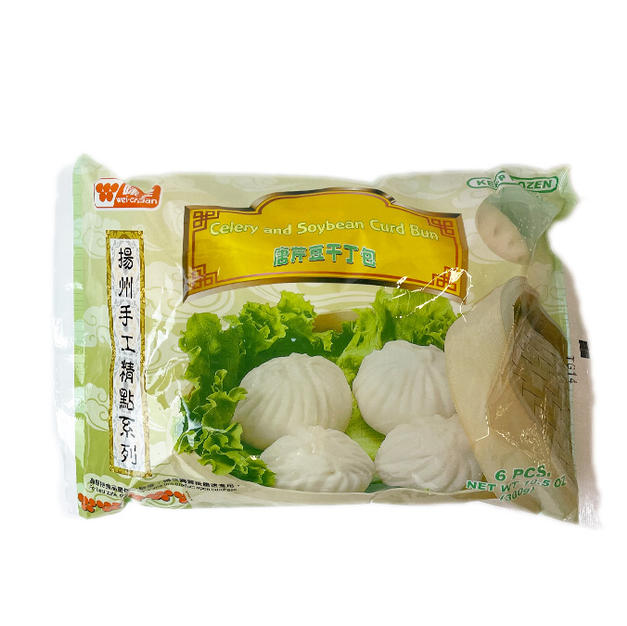 Wei Chuan Celery and Soybean Curd Bun (6 pcs)