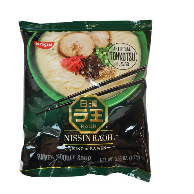 Nissin Raoh Artificial Tonkotsu Flavor Ramen