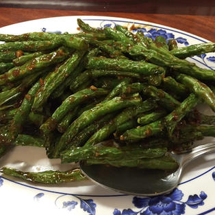 Garlic Sauce Green Beans