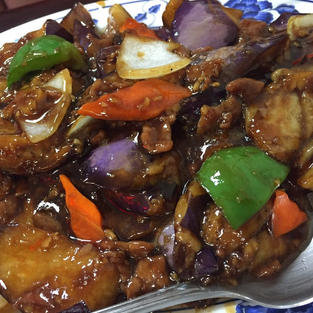 Eggplant Ground Pork