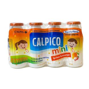 Calpico Mini Lychee _ Mango (80ml X4) Ca