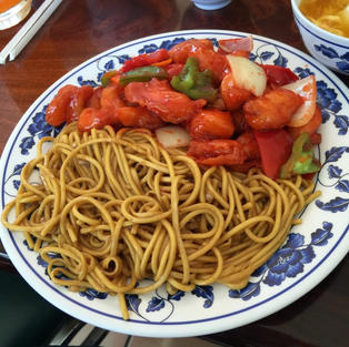 Sweet & Sour Chicken with Chow Mein