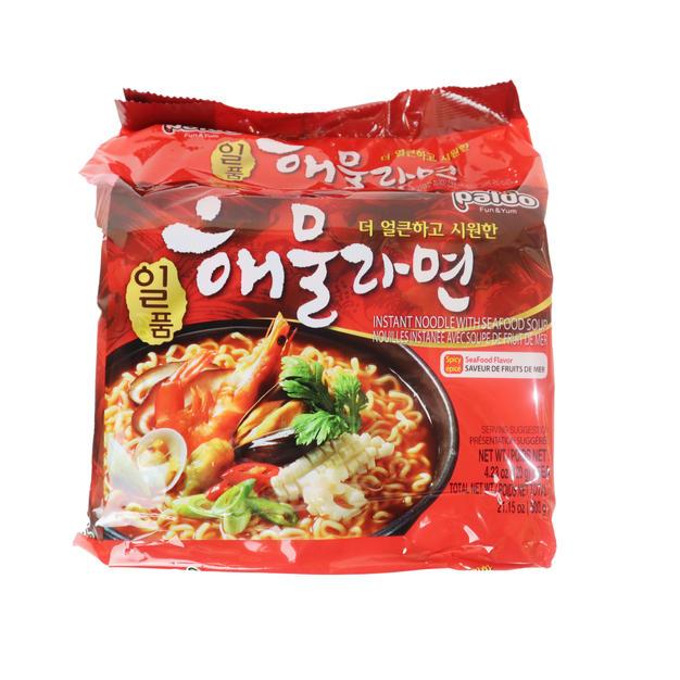 Palod Seafood Noodle Soup 5PK (600g) 八道御