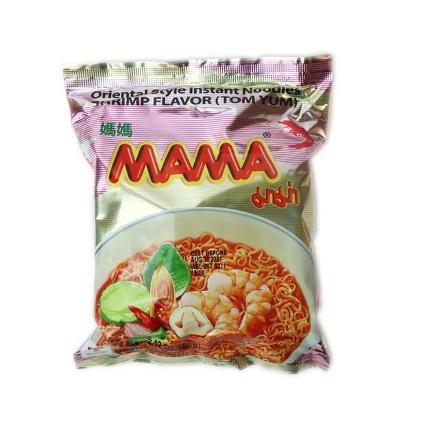 Mama Instant Noodle Shrimp Flavor