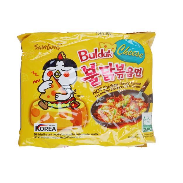 Samyang Buldak Hot Chicken Ramen-Cheese
