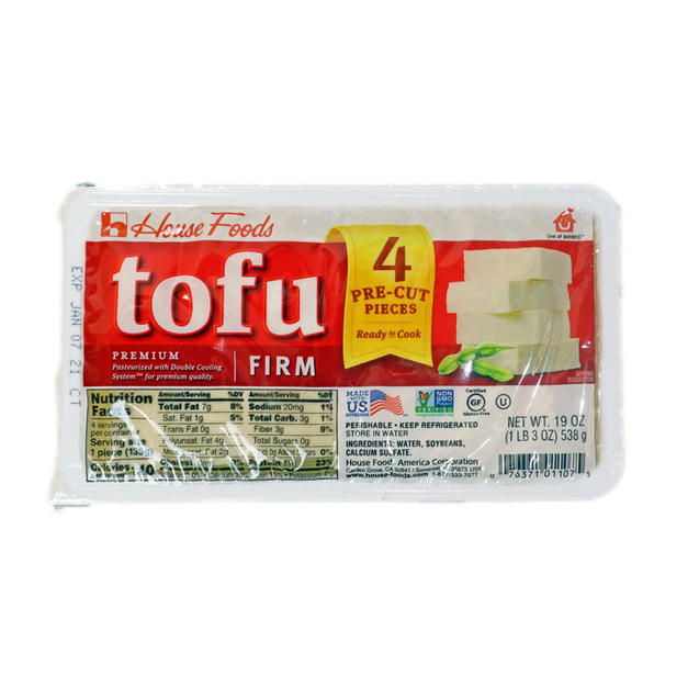 House  Champion Tofu - Firm (19 oz) 老豆腐.
