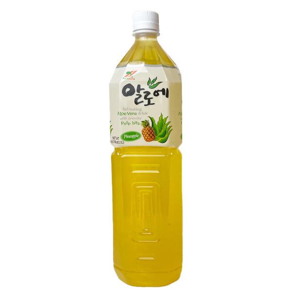 Hanasia Aloe Pineapple Drink (1.5L) 韩亚菠萝