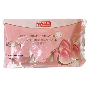 Wei Chuan Peach-Shaped Steamed Bun With Red Bean Paste