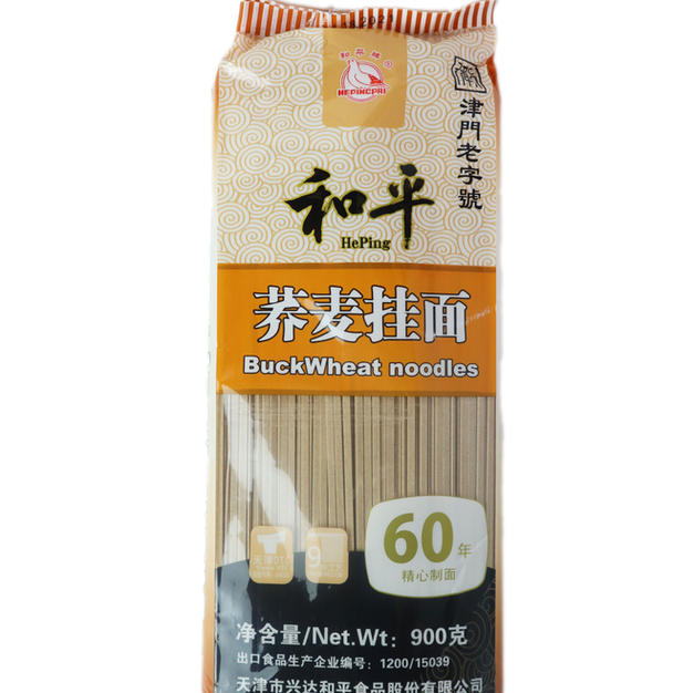 Heping Buckwheat Noodle (900g) 和平荞麦挂面(90g)