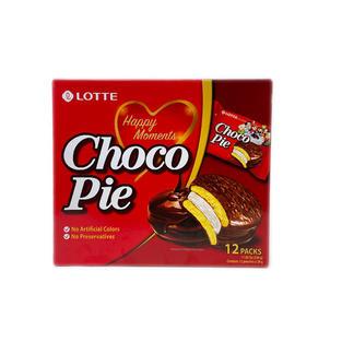 Lotte Choco Pie (12 packs-336g) 乐天夹心巧克力派