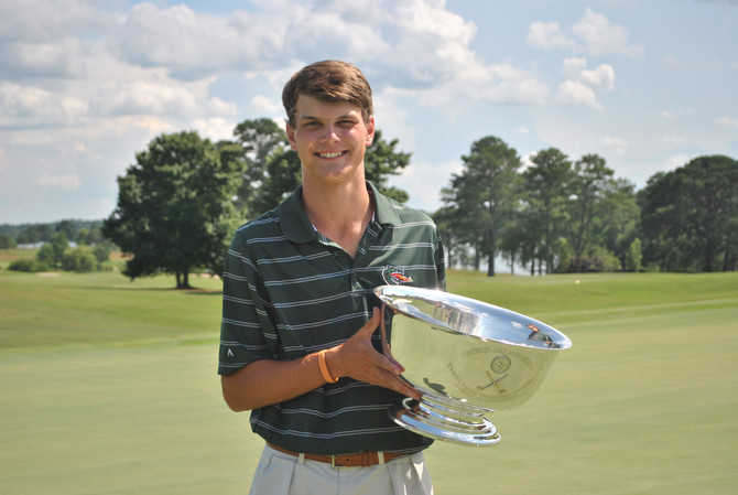 In a Fierce Battle for the Title, Hagood Takes the Trophy at the Southern Junior Championship After