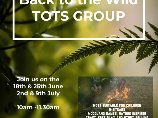 Back to the Wild Tots Group