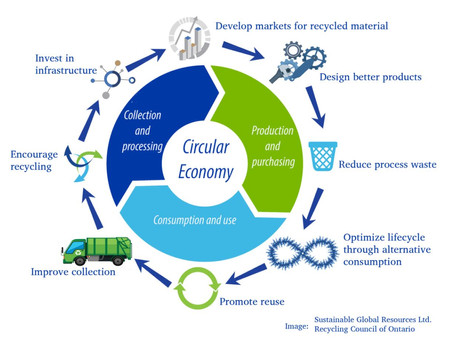 เศรษฐกิจหมุนเวียน (Circular Economy) เพื่อความยั่งยืน