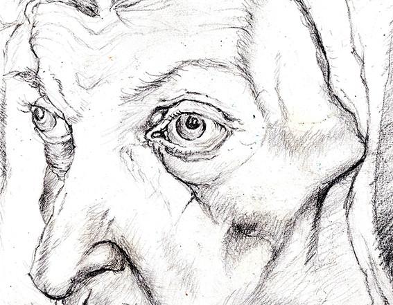 Détail d'après Albrecht Dürer