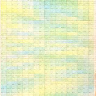 Etude jaune - bleu 1