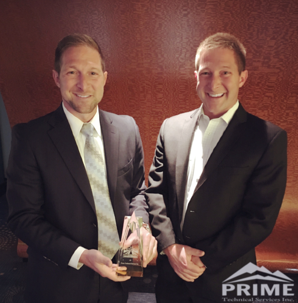Co-founders Kurt and Kyle Sobotka at the 2018 Pacesetter Awards