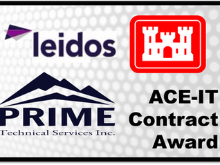 Prime Technical Services Partners With Leidos To Win ACE-IT Support Contract