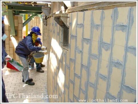 Brick Lining IPC Thailand