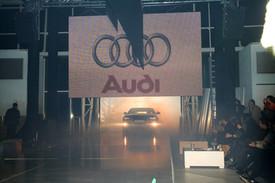 Audi A4  launch in Romania