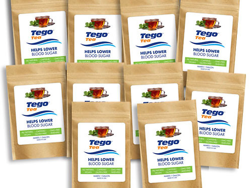 Tego Tea Bulk Order 10 pack
