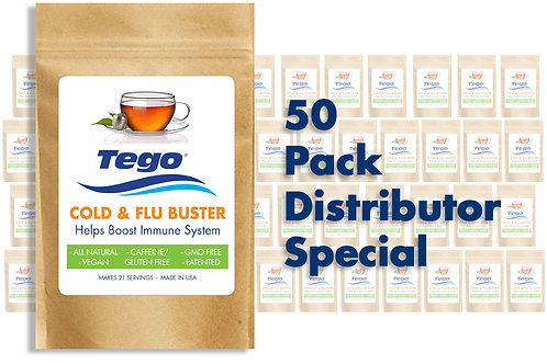 Tego Cold & Flu Buster 50 Pack Distributor Special