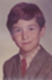 Andre Verge when he was 8 years old, the summer he met Bigfoot