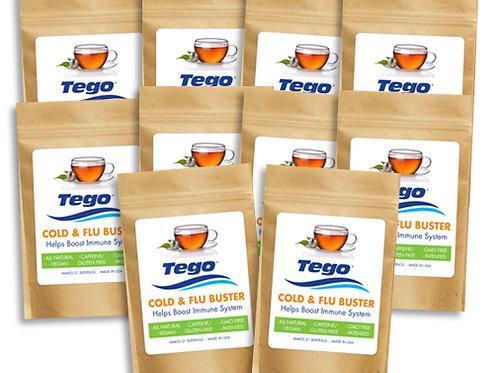 Tego Cold & Flu Buster 10 Pack