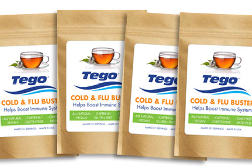 Tego Cold & Flu Buster 4 pack