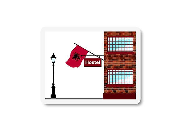 Albania Hostels Sticker