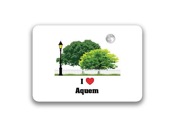 Aquem Sticker