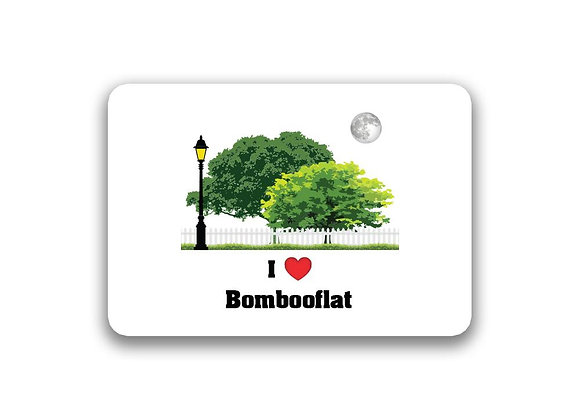 Bombooflat Sticker