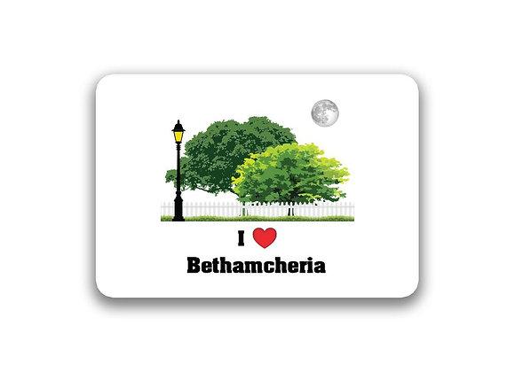 Bethamcheria Sticker