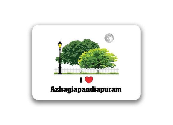 Azhagiapandiapuram Sticker