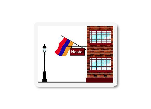 Armenia Hostels Sticker