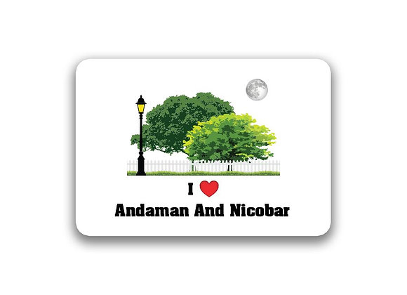 Andaman And Nicobar Sticker