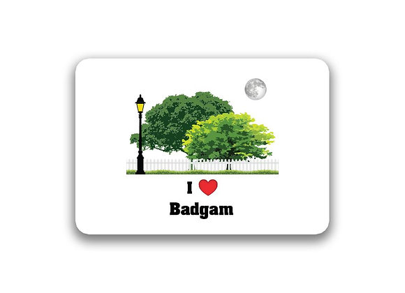 Badgam Sticker