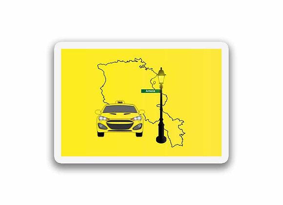 Armenia Taxi Sticker