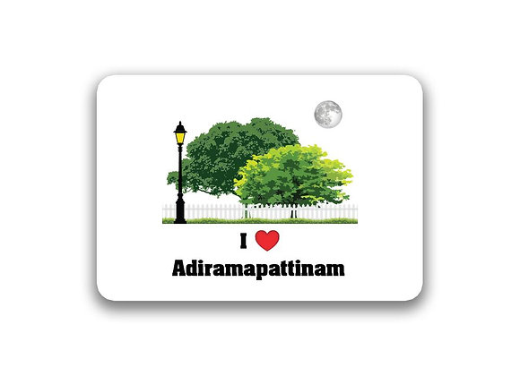 Adiramapattinam Sticker