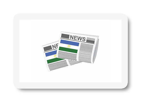 Bashkortostan Newspapers Sticker