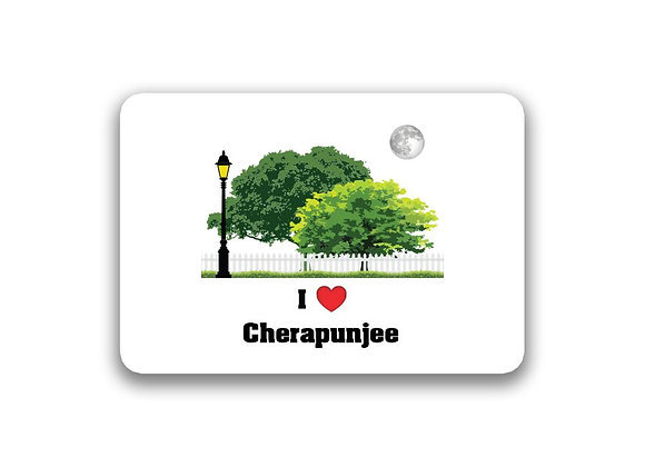 Cherapunjee Sticker